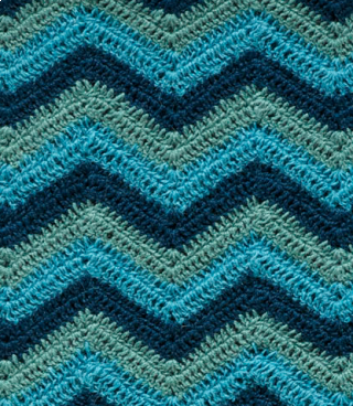 Alpaca Afghan: Ocean Blue: SOLD OUT