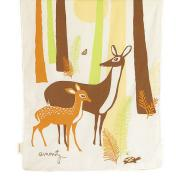 Woods Organic Cotton Crib Duvet Cover:  $127
